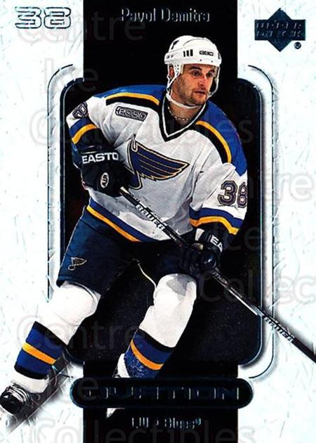 1999-00 UD Ovation #48 Pavol Demitra<br/>6 In Stock - $1.00 each - <a href=https://centericecollectibles.foxycart.com/cart?name=1999-00%20UD%20Ovation%20%2348%20Pavol%20Demitra...&quantity_max=6&price=$1.00&code=82594 class=foxycart> Buy it now! </a>