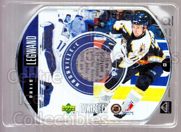 1999-00 Upper Deck PowerDeck #13 David Legwand<br/>6 In Stock - $2.00 each - <a href=https://centericecollectibles.foxycart.com/cart?name=1999-00%20Upper%20Deck%20PowerDeck%20%2313%20David%20Legwand...&quantity_max=6&price=$2.00&code=82672 class=foxycart> Buy it now! </a>