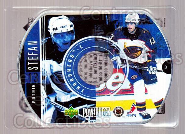 1999-00 Upper Deck PowerDeck #3 Patrik Stefan<br/>8 In Stock - $2.00 each - <a href=https://centericecollectibles.foxycart.com/cart?name=1999-00%20Upper%20Deck%20PowerDeck%20%233%20Patrik%20Stefan...&quantity_max=8&price=$2.00&code=82679 class=foxycart> Buy it now! </a>
