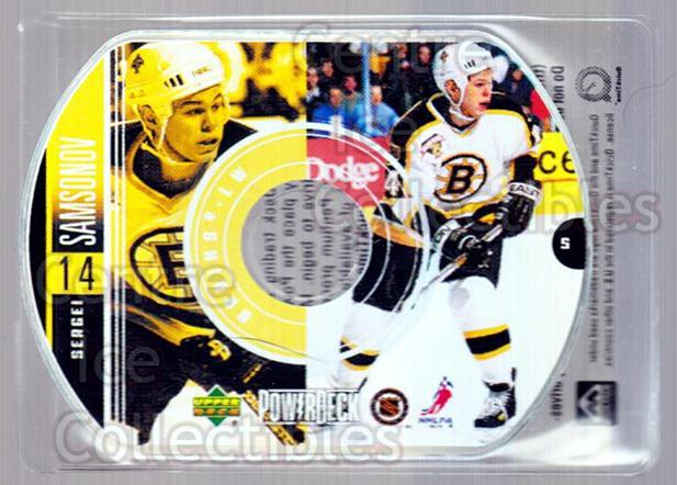 1999-00 Upper Deck PowerDeck #5 Sergei Samsonov<br/>7 In Stock - $2.00 each - <a href=https://centericecollectibles.foxycart.com/cart?name=1999-00%20Upper%20Deck%20PowerDeck%20%235%20Sergei%20Samsonov...&quantity_max=7&price=$2.00&code=82681 class=foxycart> Buy it now! </a>