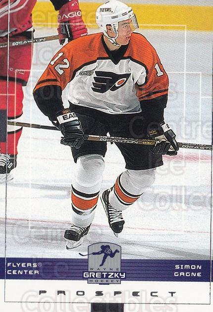 1999-00 Wayne Gretzky Hockey #125 Simon Gagne<br/>10 In Stock - $1.00 each - <a href=https://centericecollectibles.foxycart.com/cart?name=1999-00%20Wayne%20Gretzky%20Hockey%20%23125%20Simon%20Gagne...&quantity_max=10&price=$1.00&code=82926 class=foxycart> Buy it now! </a>