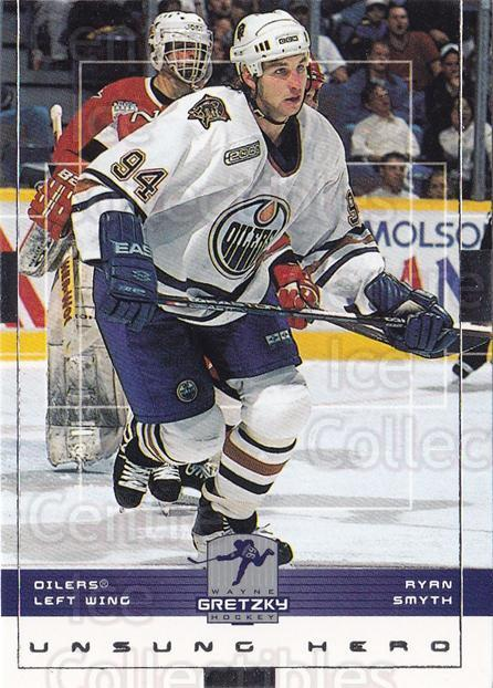 1999-00 Wayne Gretzky Hockey #69 Ryan Smyth<br/>4 In Stock - $1.00 each - <a href=https://centericecollectibles.foxycart.com/cart?name=1999-00%20Wayne%20Gretzky%20Hockey%20%2369%20Ryan%20Smyth...&quantity_max=4&price=$1.00&code=83042 class=foxycart> Buy it now! </a>