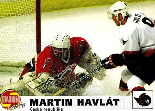 2000-01 Czech Stadion #116 Martin Havlat<br/>2 In Stock - $3.00 each - <a href=https://centericecollectibles.foxycart.com/cart?name=2000-01%20Czech%20Stadion%20%23116%20Martin%20Havlat...&quantity_max=2&price=$3.00&code=83053 class=foxycart> Buy it now! </a>