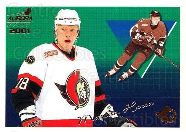 2000-01 Aurora #101 Marian Hossa<br/>5 In Stock - $1.00 each - <a href=https://centericecollectibles.foxycart.com/cart?name=2000-01%20Aurora%20%23101%20Marian%20Hossa...&quantity_max=5&price=$1.00&code=83152 class=foxycart> Buy it now! </a>