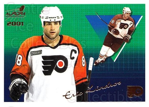 2000-01 Aurora #108 Eric Lindros<br/>5 In Stock - $1.00 each - <a href=https://centericecollectibles.foxycart.com/cart?name=2000-01%20Aurora%20%23108%20Eric%20Lindros...&quantity_max=5&price=$1.00&code=83159 class=foxycart> Buy it now! </a>