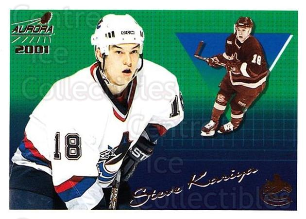 2000-01 Aurora #143 Steve Kariya<br/>8 In Stock - $1.00 each - <a href=https://centericecollectibles.foxycart.com/cart?name=2000-01%20Aurora%20%23143%20Steve%20Kariya...&quantity_max=8&price=$1.00&code=83198 class=foxycart> Buy it now! </a>