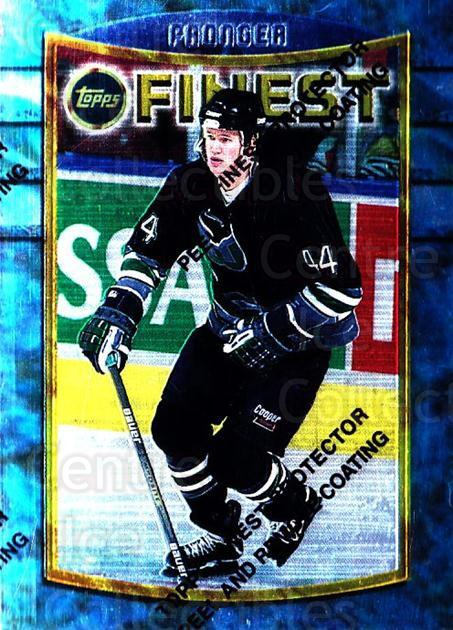 1994-95 Finest #62 Chris Pronger<br/>6 In Stock - $1.00 each - <a href=https://centericecollectibles.foxycart.com/cart?name=1994-95%20Finest%20%2362%20Chris%20Pronger...&quantity_max=6&price=$1.00&code=831 class=foxycart> Buy it now! </a>