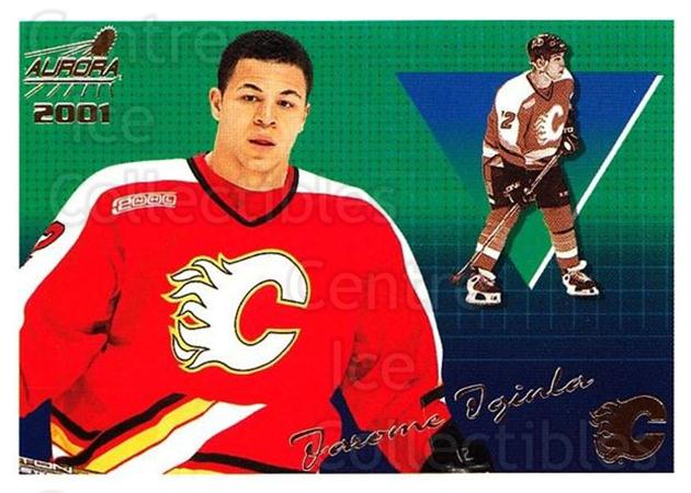 2000-01 Aurora #24 Jarome Iginla<br/>8 In Stock - $1.00 each - <a href=https://centericecollectibles.foxycart.com/cart?name=2000-01%20Aurora%20%2324%20Jarome%20Iginla...&quantity_max=8&price=$1.00&code=83216 class=foxycart> Buy it now! </a>