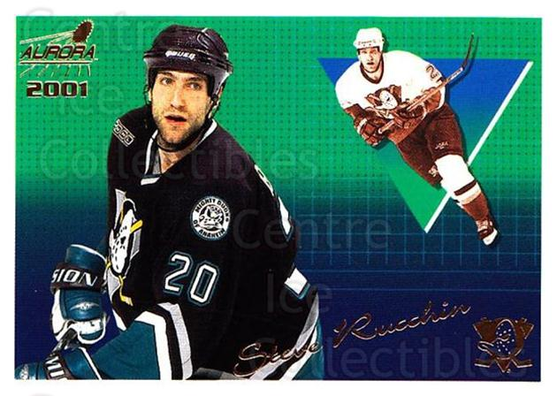 2000-01 Aurora #3 Steve Rucchin<br/>4 In Stock - $1.00 each - <a href=https://centericecollectibles.foxycart.com/cart?name=2000-01%20Aurora%20%233%20Steve%20Rucchin...&quantity_max=4&price=$1.00&code=83222 class=foxycart> Buy it now! </a>