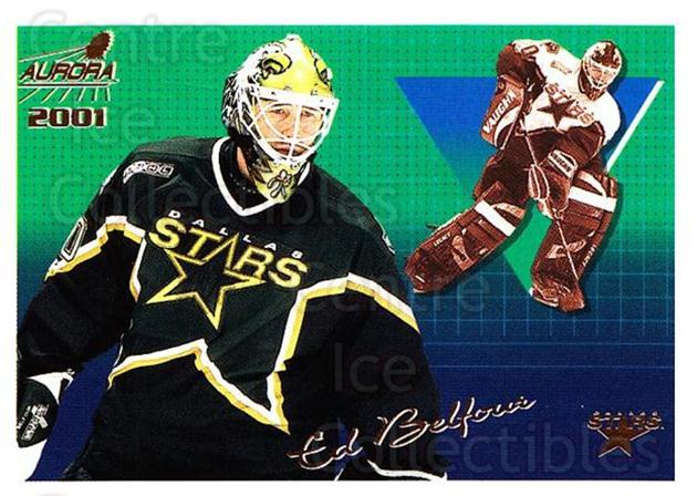 2000-01 Aurora #43 Ed Belfour<br/>5 In Stock - $1.00 each - <a href=https://centericecollectibles.foxycart.com/cart?name=2000-01%20Aurora%20%2343%20Ed%20Belfour...&price=$1.00&code=83235 class=foxycart> Buy it now! </a>