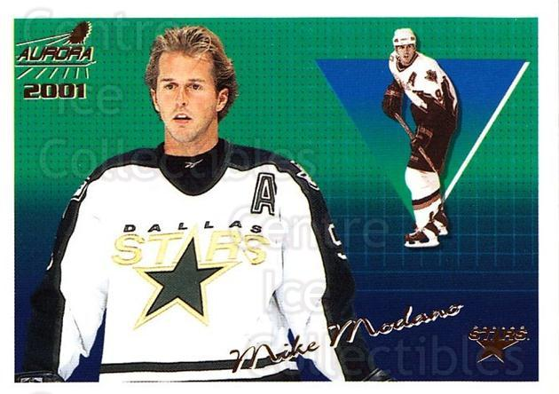 2000-01 Aurora #45 Mike Modano<br/>9 In Stock - $1.00 each - <a href=https://centericecollectibles.foxycart.com/cart?name=2000-01%20Aurora%20%2345%20Mike%20Modano...&quantity_max=9&price=$1.00&code=83237 class=foxycart> Buy it now! </a>