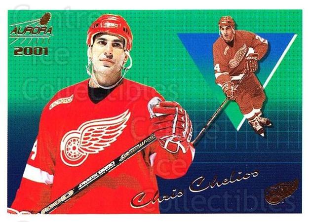 2000-01 Aurora #48 Chris Chelios<br/>7 In Stock - $1.00 each - <a href=https://centericecollectibles.foxycart.com/cart?name=2000-01%20Aurora%20%2348%20Chris%20Chelios...&quantity_max=7&price=$1.00&code=83240 class=foxycart> Buy it now! </a>