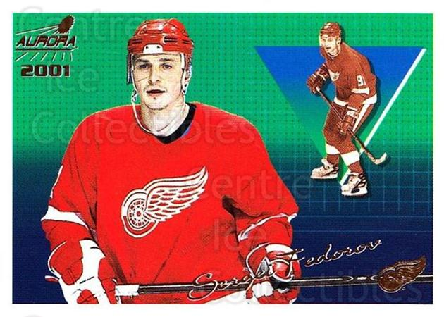 2000-01 Aurora #49 Sergei Fedorov<br/>8 In Stock - $1.00 each - <a href=https://centericecollectibles.foxycart.com/cart?name=2000-01%20Aurora%20%2349%20Sergei%20Fedorov...&quantity_max=8&price=$1.00&code=83241 class=foxycart> Buy it now! </a>