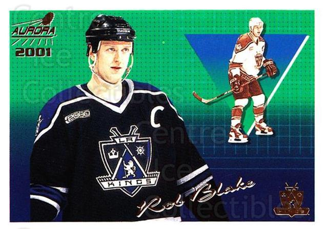 2000-01 Aurora #65 Rob Blake<br/>5 In Stock - $1.00 each - <a href=https://centericecollectibles.foxycart.com/cart?name=2000-01%20Aurora%20%2365%20Rob%20Blake...&quantity_max=5&price=$1.00&code=83259 class=foxycart> Buy it now! </a>