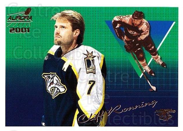 2000-01 Aurora #79 Cliff Ronning<br/>4 In Stock - $1.00 each - <a href=https://centericecollectibles.foxycart.com/cart?name=2000-01%20Aurora%20%2379%20Cliff%20Ronning...&quantity_max=4&price=$1.00&code=83274 class=foxycart> Buy it now! </a>