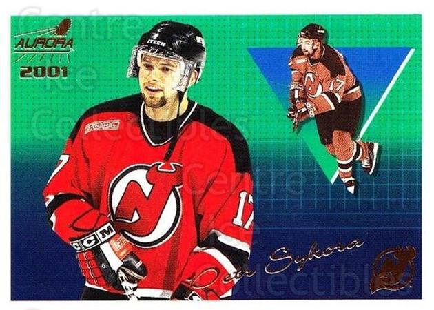 2000-01 Aurora #86 Petr Sykora<br/>2 In Stock - $1.00 each - <a href=https://centericecollectibles.foxycart.com/cart?name=2000-01%20Aurora%20%2386%20Petr%20Sykora...&quantity_max=2&price=$1.00&code=83282 class=foxycart> Buy it now! </a>