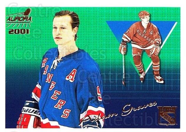 2000-01 Aurora #93 Adam Graves<br/>11 In Stock - $1.00 each - <a href=https://centericecollectibles.foxycart.com/cart?name=2000-01%20Aurora%20%2393%20Adam%20Graves...&quantity_max=11&price=$1.00&code=83290 class=foxycart> Buy it now! </a>