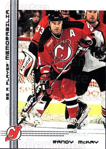 2000-01 BAP Memorabilia #342 Randy McKay<br/>3 In Stock - $1.00 each - <a href=https://centericecollectibles.foxycart.com/cart?name=2000-01%20BAP%20Memorabilia%20%23342%20Randy%20McKay...&quantity_max=3&price=$1.00&code=83361 class=foxycart> Buy it now! </a>