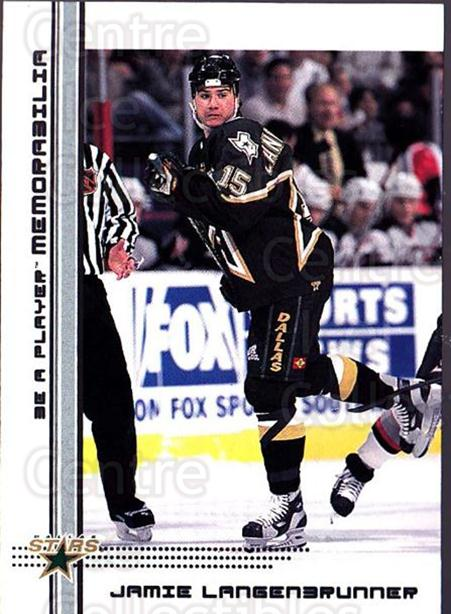 2000-01 BAP Memorabilia #156 Jamie Langenbrunner<br/>4 In Stock - $1.00 each - <a href=https://centericecollectibles.foxycart.com/cart?name=2000-01%20BAP%20Memorabilia%20%23156%20Jamie%20Langenbru...&quantity_max=4&price=$1.00&code=83735 class=foxycart> Buy it now! </a>