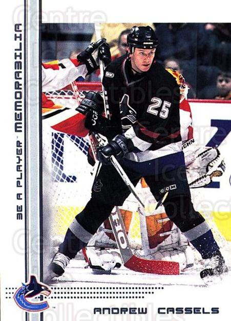 2000-01 BAP Memorabilia #178 Andrew Cassels<br/>4 In Stock - $1.00 each - <a href=https://centericecollectibles.foxycart.com/cart?name=2000-01%20BAP%20Memorabilia%20%23178%20Andrew%20Cassels...&quantity_max=4&price=$1.00&code=83757 class=foxycart> Buy it now! </a>