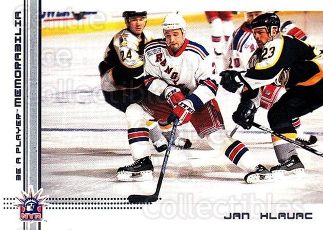 2000-01 BAP Memorabilia #187 Jan Hlavac<br/>4 In Stock - $1.00 each - <a href=https://centericecollectibles.foxycart.com/cart?name=2000-01%20BAP%20Memorabilia%20%23187%20Jan%20Hlavac...&quantity_max=4&price=$1.00&code=83767 class=foxycart> Buy it now! </a>