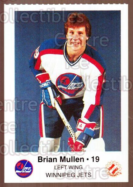 1984-85 Winnipeg Jets Police #15 Brian Mullen<br/>3 In Stock - $3.00 each - <a href=https://centericecollectibles.foxycart.com/cart?name=1984-85%20Winnipeg%20Jets%20Police%20%2315%20Brian%20Mullen...&quantity_max=3&price=$3.00&code=83 class=foxycart> Buy it now! </a>