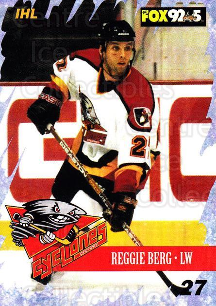 2000-01 Cincinnati Cyclones #13 Reggie Berg<br/>4 In Stock - $3.00 each - <a href=https://centericecollectibles.foxycart.com/cart?name=2000-01%20Cincinnati%20Cyclones%20%2313%20Reggie%20Berg...&quantity_max=4&price=$3.00&code=84393 class=foxycart> Buy it now! </a>