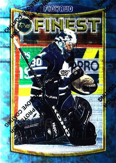 1994-95 Finest #77 Eric Fichaud<br/>3 In Stock - $1.00 each - <a href=https://centericecollectibles.foxycart.com/cart?name=1994-95%20Finest%20%2377%20Eric%20Fichaud...&price=$1.00&code=843 class=foxycart> Buy it now! </a>