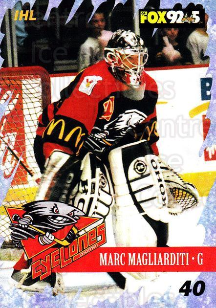 2000-01 Cincinnati Cyclones #22 Marc Magliarditi<br/>1 In Stock - $3.00 each - <a href=https://centericecollectibles.foxycart.com/cart?name=2000-01%20Cincinnati%20Cyclones%20%2322%20Marc%20Magliardit...&quantity_max=1&price=$3.00&code=84401 class=foxycart> Buy it now! </a>
