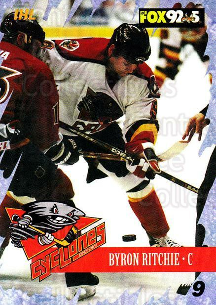 2000-01 Cincinnati Cyclones #4 Byron Ritchie<br/>1 In Stock - $3.00 each - <a href=https://centericecollectibles.foxycart.com/cart?name=2000-01%20Cincinnati%20Cyclones%20%234%20Byron%20Ritchie...&quantity_max=1&price=$3.00&code=84411 class=foxycart> Buy it now! </a>
