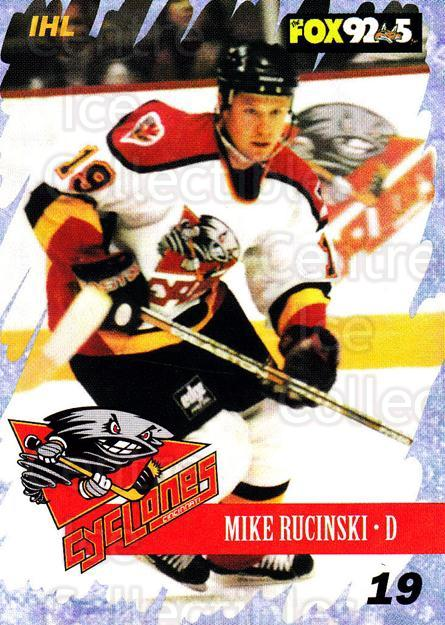 2000-01 Cincinnati Cyclones #9 Mike Rucinski<br/>4 In Stock - $3.00 each - <a href=https://centericecollectibles.foxycart.com/cart?name=2000-01%20Cincinnati%20Cyclones%20%239%20Mike%20Rucinski...&quantity_max=4&price=$3.00&code=84415 class=foxycart> Buy it now! </a>
