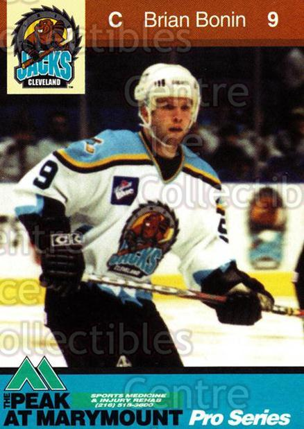 2000-01 Cleveland Lumberjacks #2 Brian Bonin<br/>1 In Stock - $3.00 each - <a href=https://centericecollectibles.foxycart.com/cart?name=2000-01%20Cleveland%20Lumberjacks%20%232%20Brian%20Bonin...&quantity_max=1&price=$3.00&code=84425 class=foxycart> Buy it now! </a>