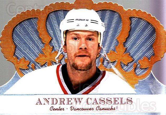 2000-01 Crown Royale #103 Andrew Cassels<br/>6 In Stock - $1.00 each - <a href=https://centericecollectibles.foxycart.com/cart?name=2000-01%20Crown%20Royale%20%23103%20Andrew%20Cassels...&quantity_max=6&price=$1.00&code=84613 class=foxycart> Buy it now! </a>