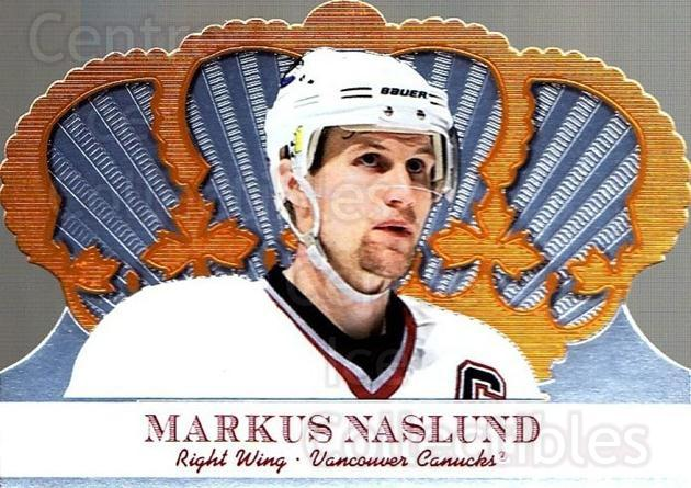2000-01 Crown Royale #104 Markus Naslund<br/>6 In Stock - $1.00 each - <a href=https://centericecollectibles.foxycart.com/cart?name=2000-01%20Crown%20Royale%20%23104%20Markus%20Naslund...&quantity_max=6&price=$1.00&code=84614 class=foxycart> Buy it now! </a>