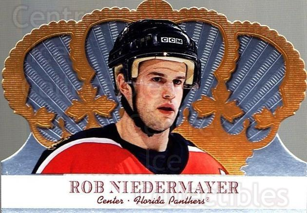 2000-01 Crown Royale #46 Rob Niedermayer<br/>6 In Stock - $1.00 each - <a href=https://centericecollectibles.foxycart.com/cart?name=2000-01%20Crown%20Royale%20%2346%20Rob%20Niedermayer...&quantity_max=6&price=$1.00&code=84670 class=foxycart> Buy it now! </a>