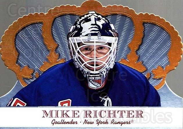 2000-01 Crown Royale #72 Mike Richter<br/>4 In Stock - $1.00 each - <a href=https://centericecollectibles.foxycart.com/cart?name=2000-01%20Crown%20Royale%20%2372%20Mike%20Richter...&quantity_max=4&price=$1.00&code=84696 class=foxycart> Buy it now! </a>