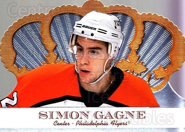 2000-01 Crown Royale #79 Simon Gagne<br/>4 In Stock - $1.00 each - <a href=https://centericecollectibles.foxycart.com/cart?name=2000-01%20Crown%20Royale%20%2379%20Simon%20Gagne...&quantity_max=4&price=$1.00&code=84703 class=foxycart> Buy it now! </a>