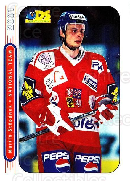 2000-01 Czech DS National Team #3 Martin Stepanek<br/>6 In Stock - $3.00 each - <a href=https://centericecollectibles.foxycart.com/cart?name=2000-01%20Czech%20DS%20National%20Team%20%233%20Martin%20Stepanek...&quantity_max=6&price=$3.00&code=84731 class=foxycart> Buy it now! </a>