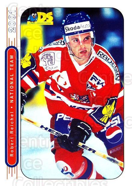 2000-01 Czech DS National Team #5 Robert Reichel<br/>4 In Stock - $3.00 each - <a href=https://centericecollectibles.foxycart.com/cart?name=2000-01%20Czech%20DS%20National%20Team%20%235%20Robert%20Reichel...&quantity_max=4&price=$3.00&code=84732 class=foxycart> Buy it now! </a>
