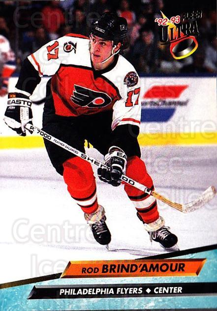 1992-93 Ultra #152 Rod Brind'Amour<br/>6 In Stock - $1.00 each - <a href=https://centericecollectibles.foxycart.com/cart?name=1992-93%20Ultra%20%23152%20Rod%20Brind'Amour...&quantity_max=6&price=$1.00&code=8485 class=foxycart> Buy it now! </a>