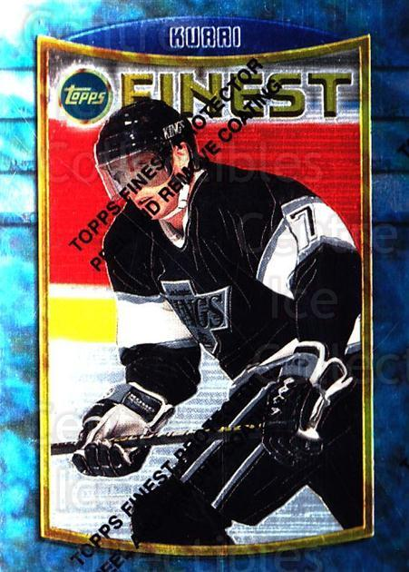 1994-95 Finest #81 Jari Kurri<br/>5 In Stock - $1.00 each - <a href=https://centericecollectibles.foxycart.com/cart?name=1994-95%20Finest%20%2381%20Jari%20Kurri...&quantity_max=5&price=$1.00&code=848 class=foxycart> Buy it now! </a>