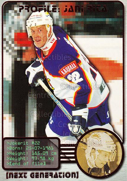 2000-01 Finnish Cardset Next Generation #4 Jani Rita<br/>7 In Stock - $3.00 each - <a href=https://centericecollectibles.foxycart.com/cart?name=2000-01%20Finnish%20Cardset%20Next%20Generation%20%234%20Jani%20Rita...&price=$3.00&code=85122 class=foxycart> Buy it now! </a>