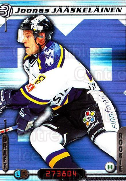 2000-01 Finnish Cardset #10 Joonas Jaaskelainen<br/>7 In Stock - $2.00 each - <a href=https://centericecollectibles.foxycart.com/cart?name=2000-01%20Finnish%20Cardset%20%2310%20Joonas%20Jaaskela...&quantity_max=7&price=$2.00&code=85128 class=foxycart> Buy it now! </a>