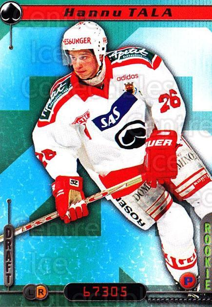 2000-01 Finnish Cardset #110 Hannu Tala<br/>6 In Stock - $2.00 each - <a href=https://centericecollectibles.foxycart.com/cart?name=2000-01%20Finnish%20Cardset%20%23110%20Hannu%20Tala...&price=$2.00&code=85140 class=foxycart> Buy it now! </a>
