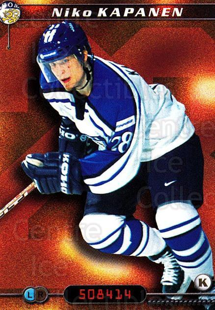 2000-01 Finnish Cardset #120 Niko Kapanen<br/>7 In Stock - $2.00 each - <a href=https://centericecollectibles.foxycart.com/cart?name=2000-01%20Finnish%20Cardset%20%23120%20Niko%20Kapanen...&quantity_max=7&price=$2.00&code=85149 class=foxycart> Buy it now! </a>