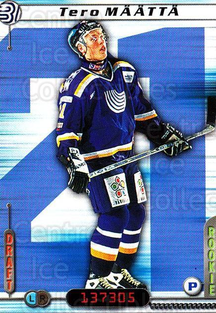 2000-01 Finnish Cardset #125 Tero Maatta<br/>4 In Stock - $2.00 each - <a href=https://centericecollectibles.foxycart.com/cart?name=2000-01%20Finnish%20Cardset%20%23125%20Tero%20Maatta...&quantity_max=4&price=$2.00&code=85154 class=foxycart> Buy it now! </a>