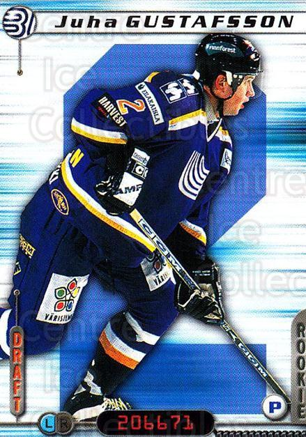 2000-01 Finnish Cardset #126 Juha Gustafsson<br/>5 In Stock - $2.00 each - <a href=https://centericecollectibles.foxycart.com/cart?name=2000-01%20Finnish%20Cardset%20%23126%20Juha%20Gustafsson...&quantity_max=5&price=$2.00&code=85155 class=foxycart> Buy it now! </a>