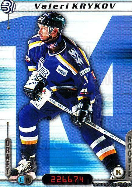 2000-01 Finnish Cardset #129 Valeri Krykov<br/>6 In Stock - $2.00 each - <a href=https://centericecollectibles.foxycart.com/cart?name=2000-01%20Finnish%20Cardset%20%23129%20Valeri%20Krykov...&quantity_max=6&price=$2.00&code=85158 class=foxycart> Buy it now! </a>