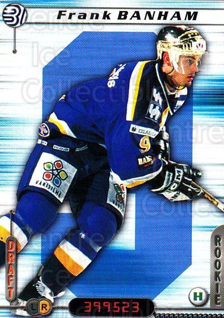 2000-01 Finnish Cardset #130 Frank Banham<br/>3 In Stock - $2.00 each - <a href=https://centericecollectibles.foxycart.com/cart?name=2000-01%20Finnish%20Cardset%20%23130%20Frank%20Banham...&price=$2.00&code=85160 class=foxycart> Buy it now! </a>