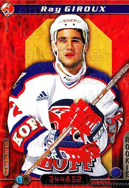 2000-01 Finnish Cardset #134 Ray Giroux<br/>6 In Stock - $2.00 each - <a href=https://centericecollectibles.foxycart.com/cart?name=2000-01%20Finnish%20Cardset%20%23134%20Ray%20Giroux...&price=$2.00&code=85164 class=foxycart> Buy it now! </a>